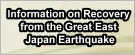 Information on Recovery from the Great East Japan Earthquake